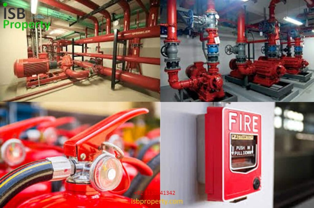 The Ice Mall Fire Fighting System