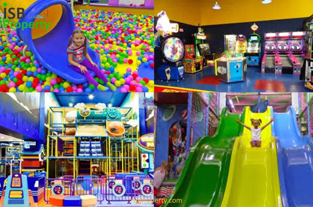 The Ice Mall Kids Play Area