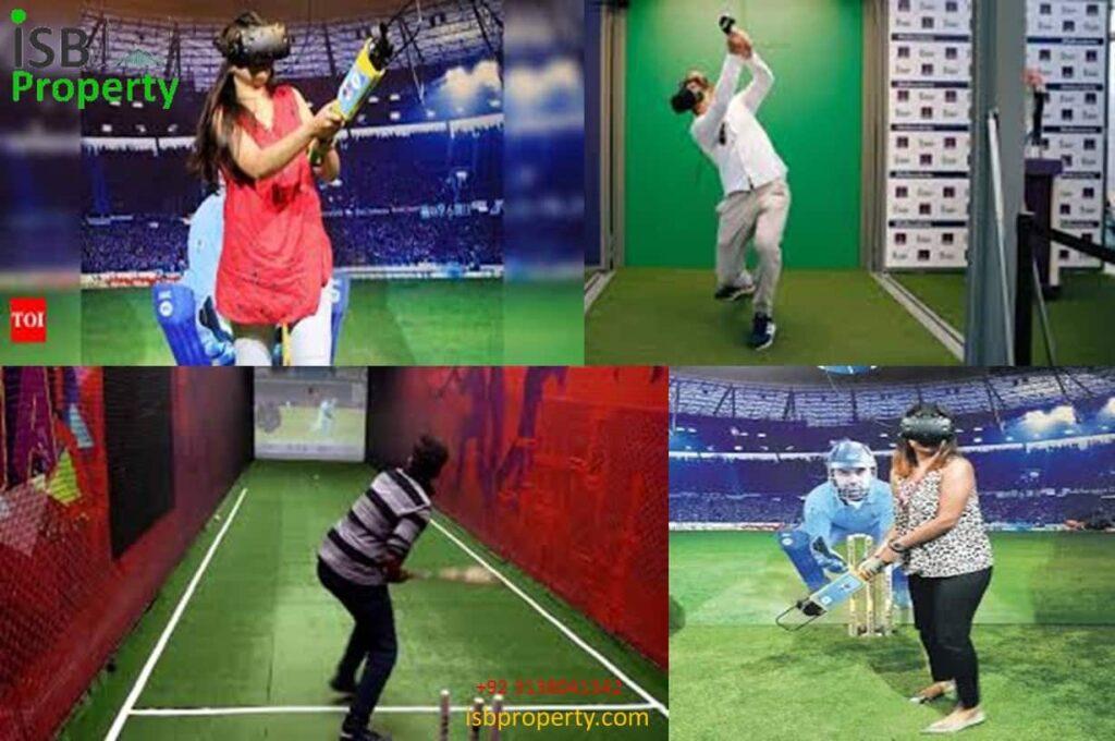 The Ice Mall Virtual Cricket